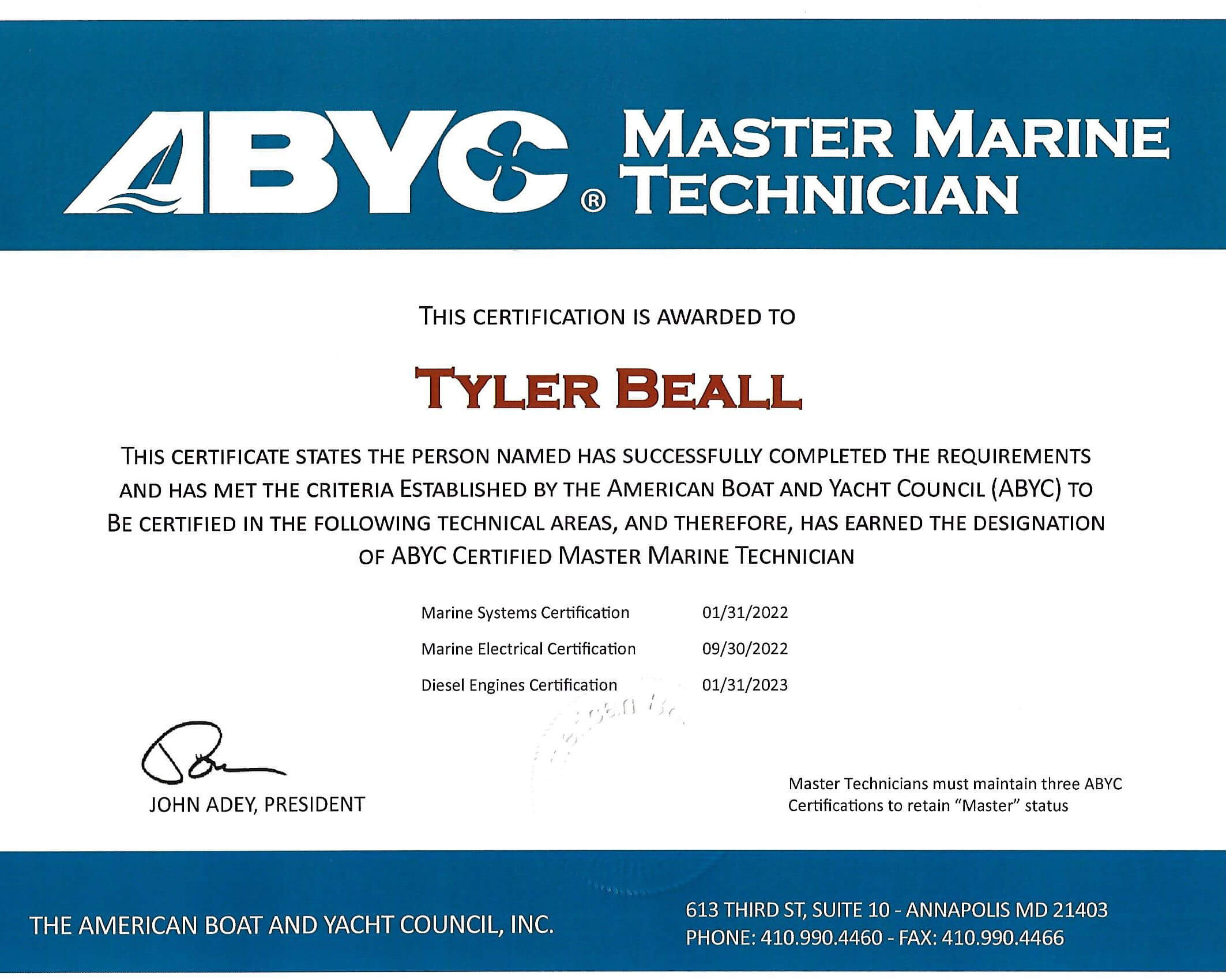 Certifications Oem Training In Annapolis Md Nmea Epa