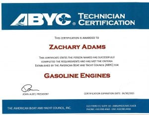 ZA-ABYC-Gasoline-Engines-Certificate