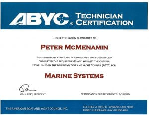 PM-ABYC-Marine-Systems-Certificate-peter